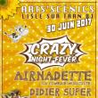 Airnadette, Giedre, Didier Super, DJ Fou, Les freres Jaquard